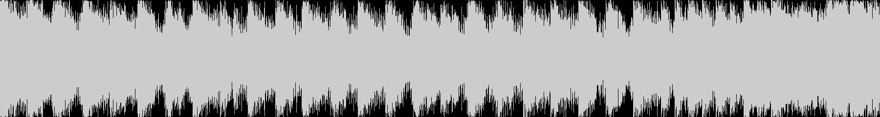 【ループE】ヘヴィーで攻撃的エレキギターの未再生の波形