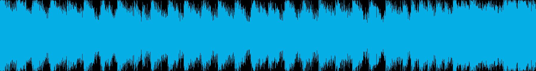 【ループE】ヘヴィーで攻撃的エレキギターの再生済みの波形