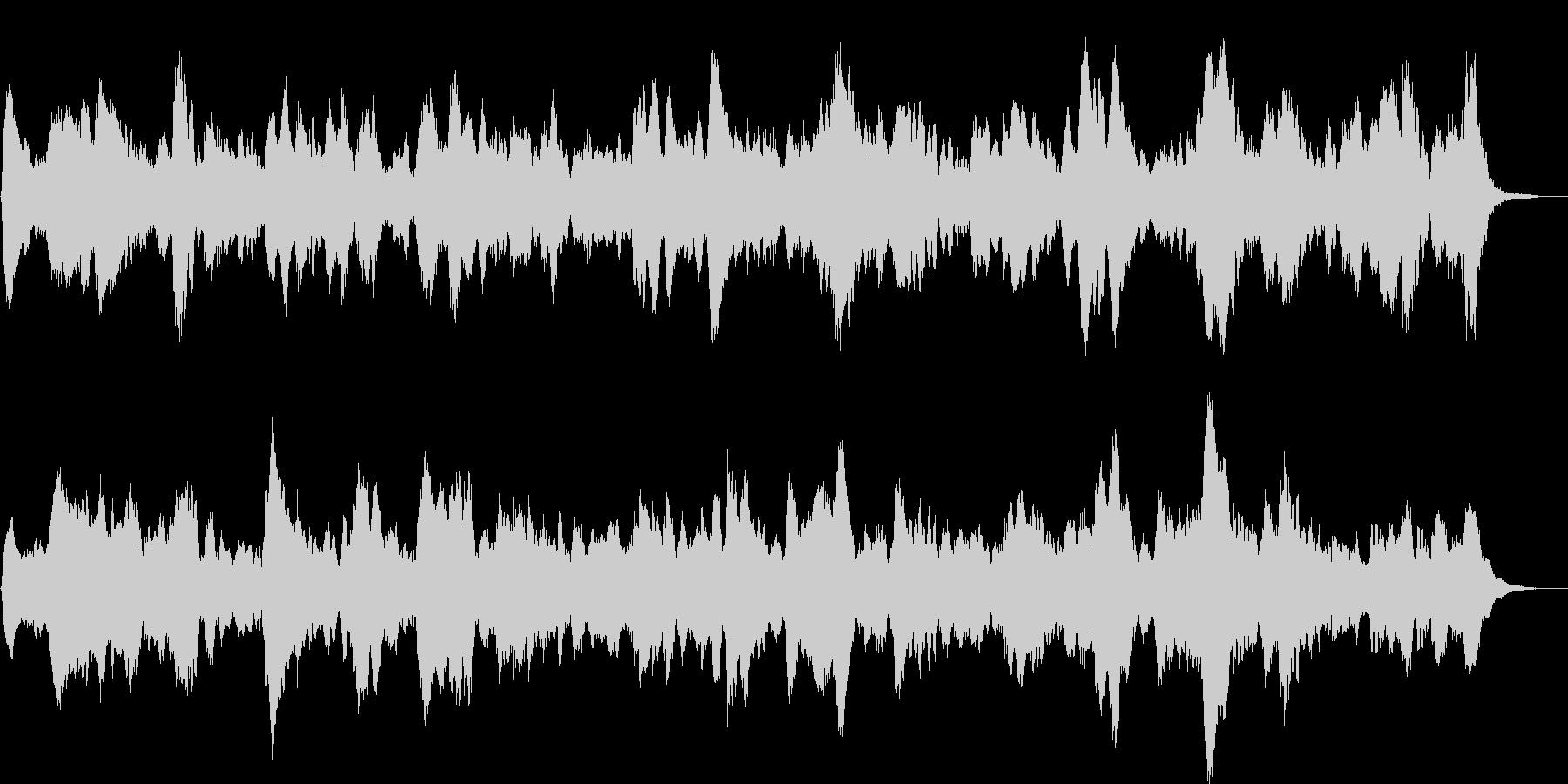 ホラー系(ループ音源)ですの未再生の波形