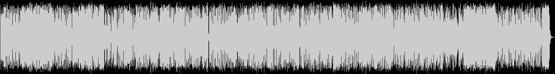 けだるく軽快なトランペットジャズ・ハウスの未再生の波形