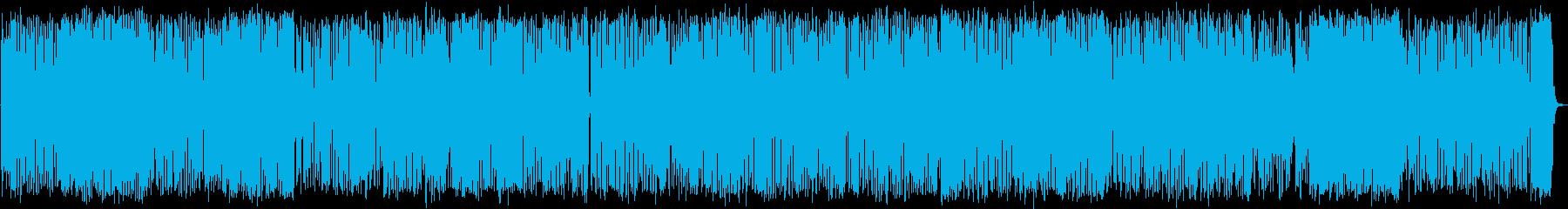 けだるく軽快なトランペットジャズ・ハウスの再生済みの波形