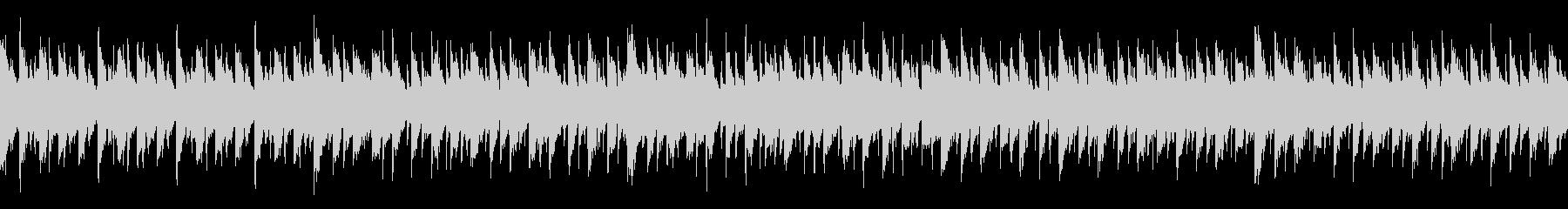 ハウス系楽曲(ループ仕様)の未再生の波形