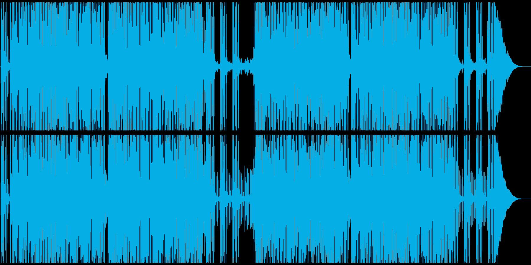 騒がしいロックンロール メロ・ブラスなしの再生済みの波形
