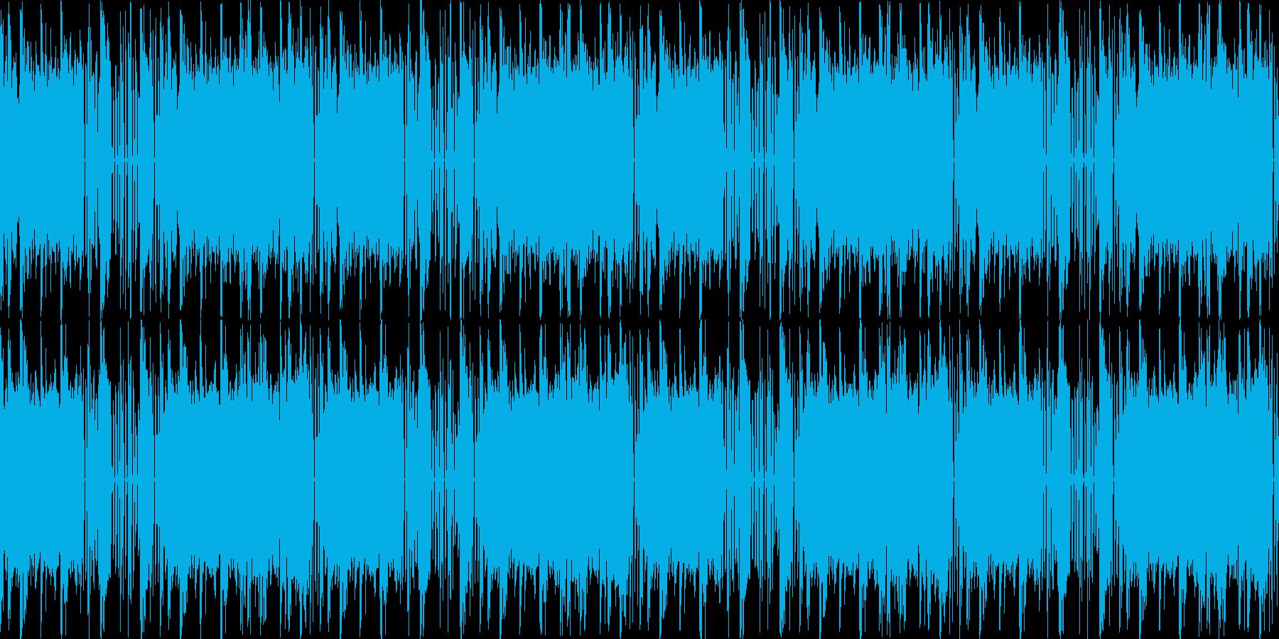 【ダンスイベントなどにぴったりBGM】の再生済みの波形