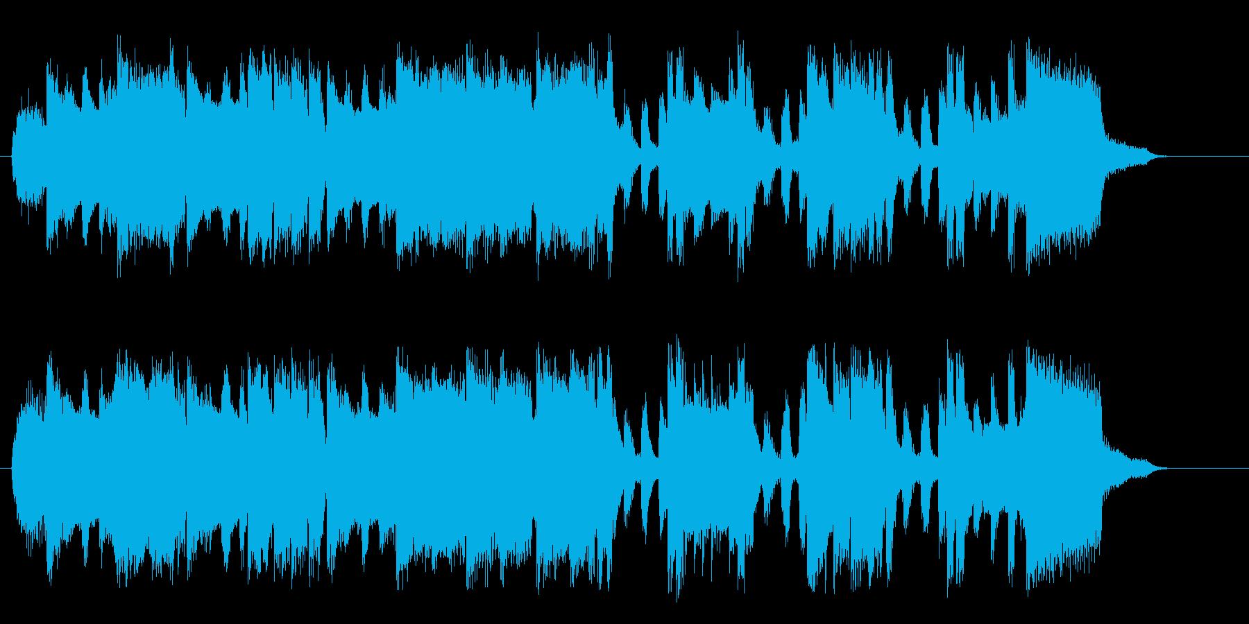 いろんな音がするドキドキしてくるポップの再生済みの波形