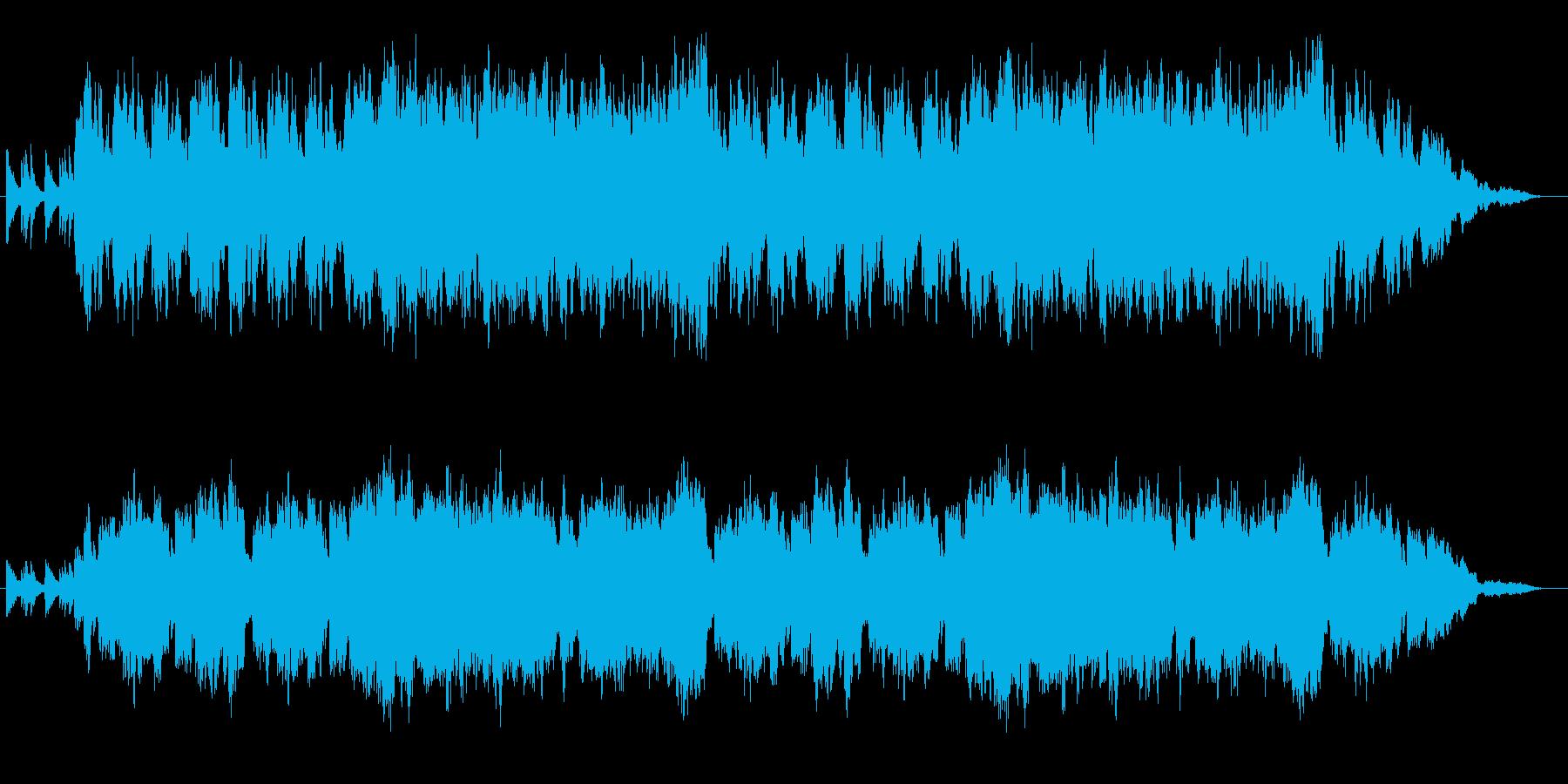 ゲームお城BGMの再生済みの波形
