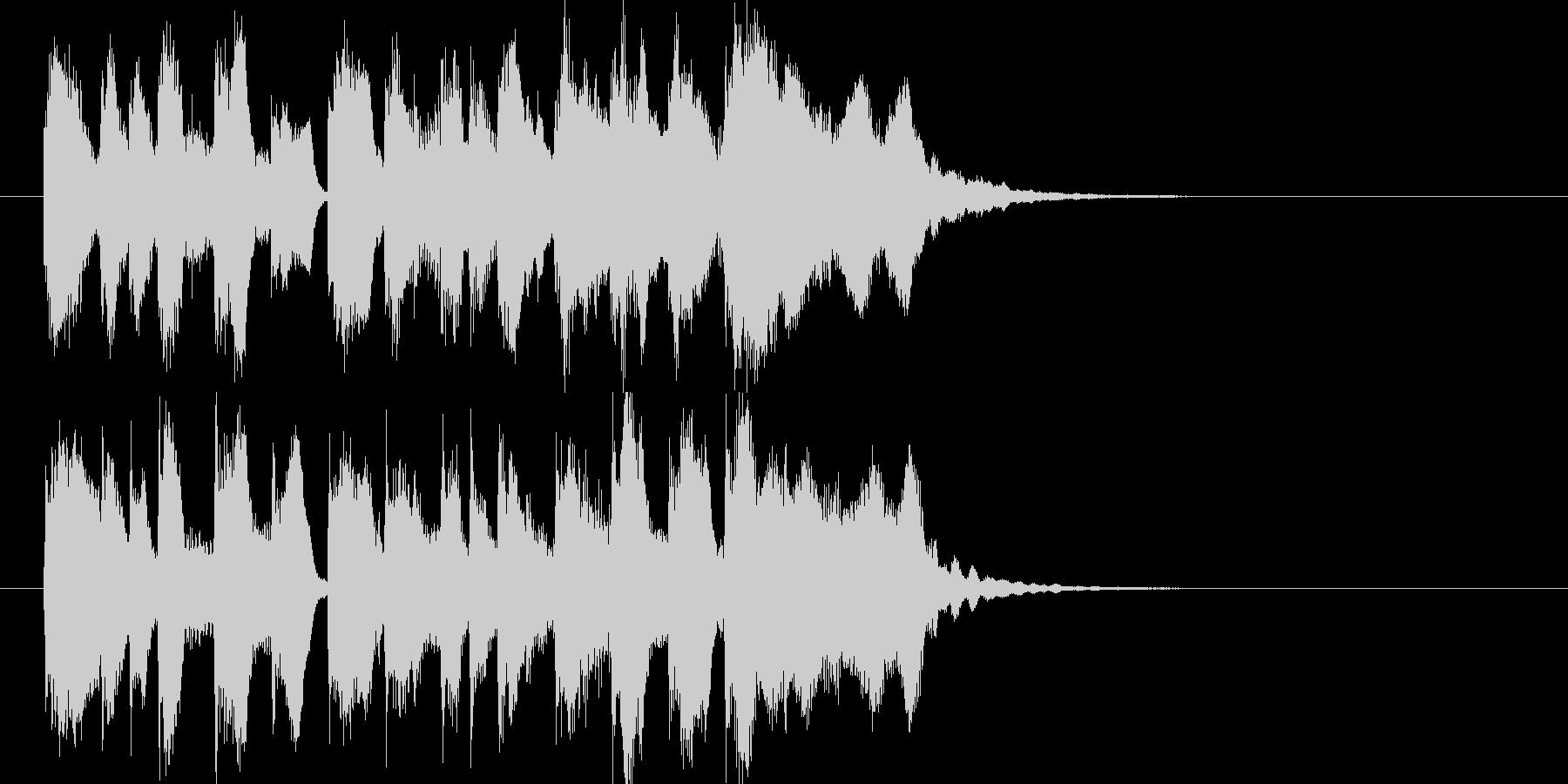 お菓子CMや小さい動物映像ジングル J7の未再生の波形