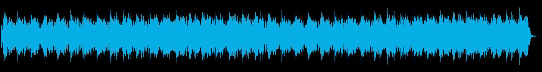 幻想的で神秘的な世界観のある楽曲の再生済みの波形