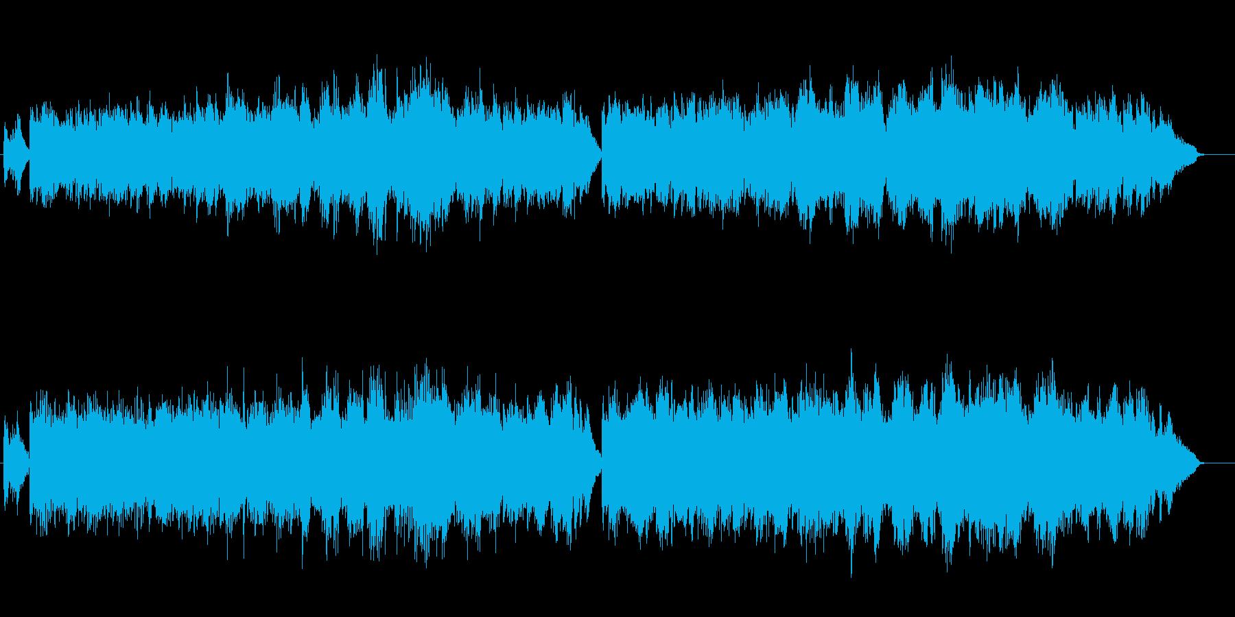 アルペジオが寂しげなメランコリックの再生済みの波形