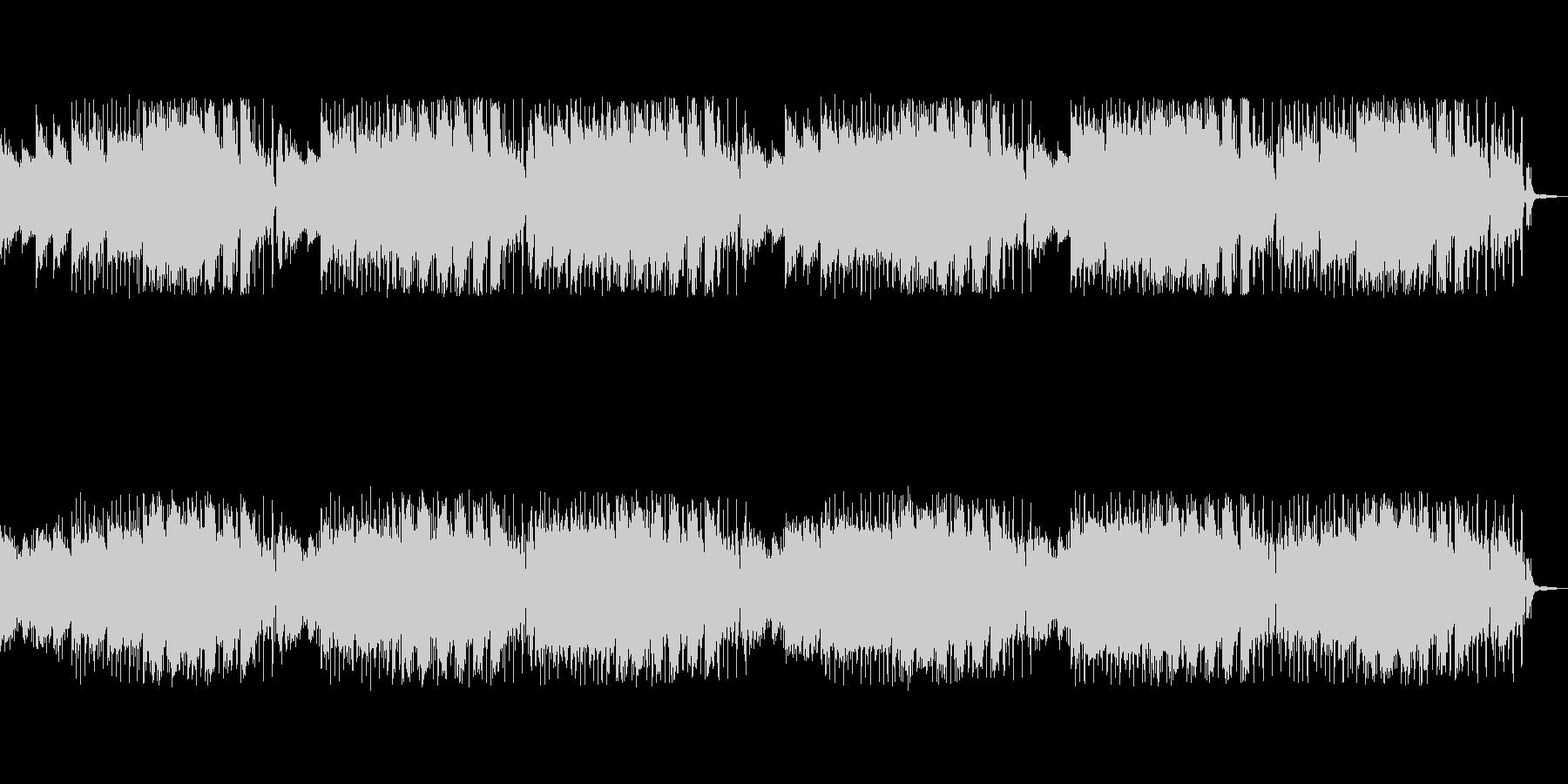 リンゴの木をイメージした感じの曲の未再生の波形
