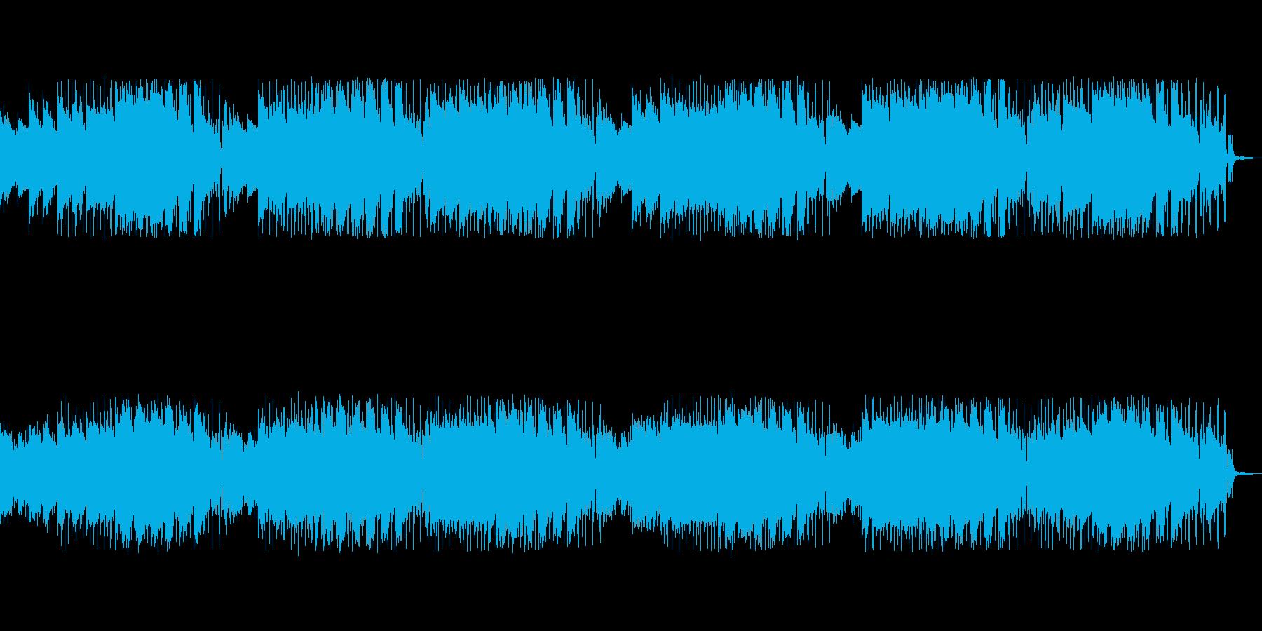 リンゴの木をイメージした感じの曲の再生済みの波形