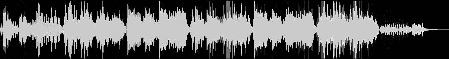 映像BGM優しく包み込むゆっくりボサノバの未再生の波形