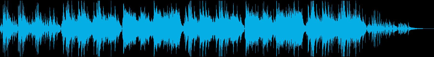 映像BGM優しく包み込むゆっくりボサノバの再生済みの波形