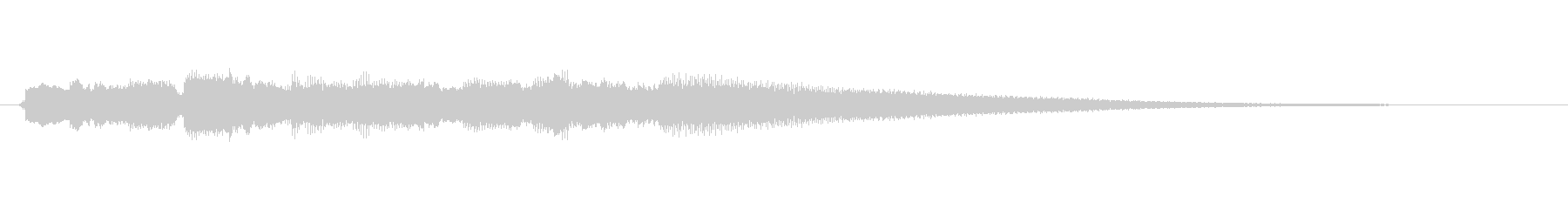 ブルースギター/ジングル/場面転換の未再生の波形