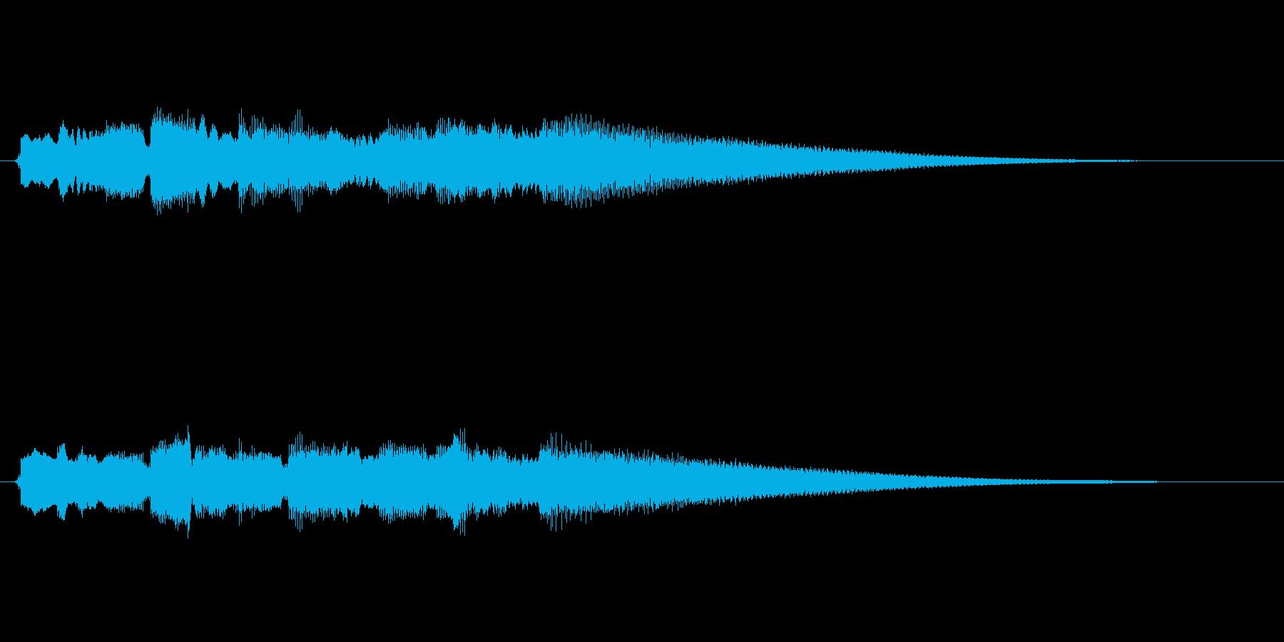 ブルースギター/ジングル/場面転換の再生済みの波形