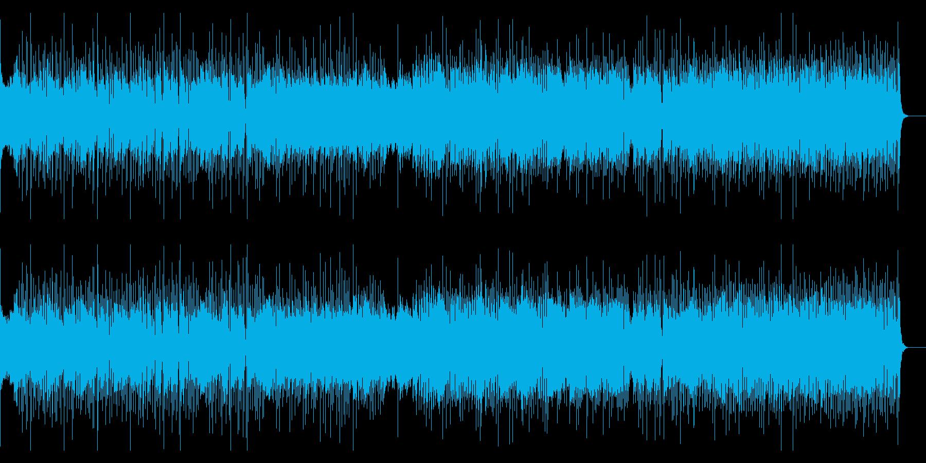 スピード感、生SAX&EGメロ、高揚感の再生済みの波形