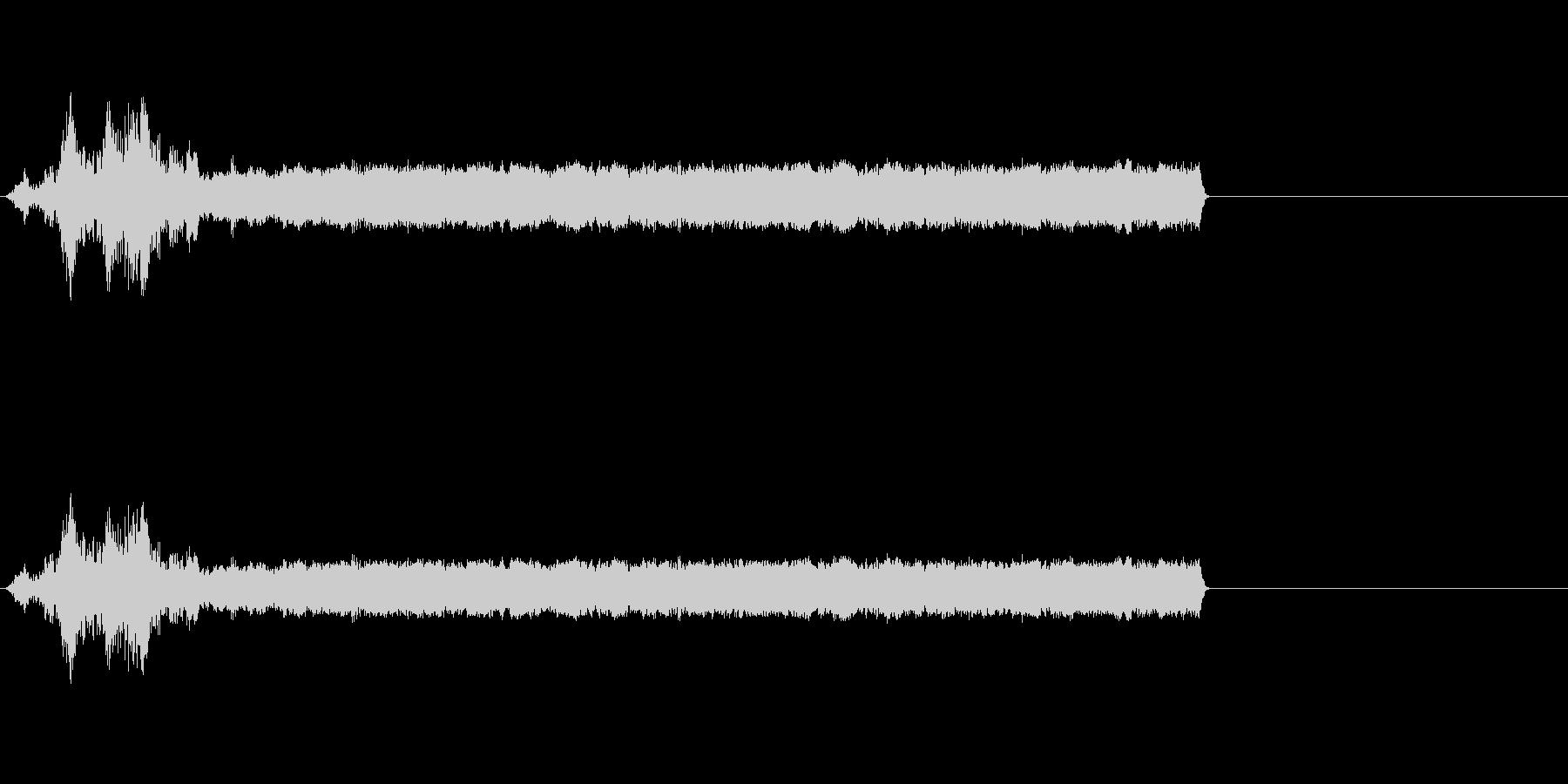 【SE 効果音】SF的な音18の未再生の波形