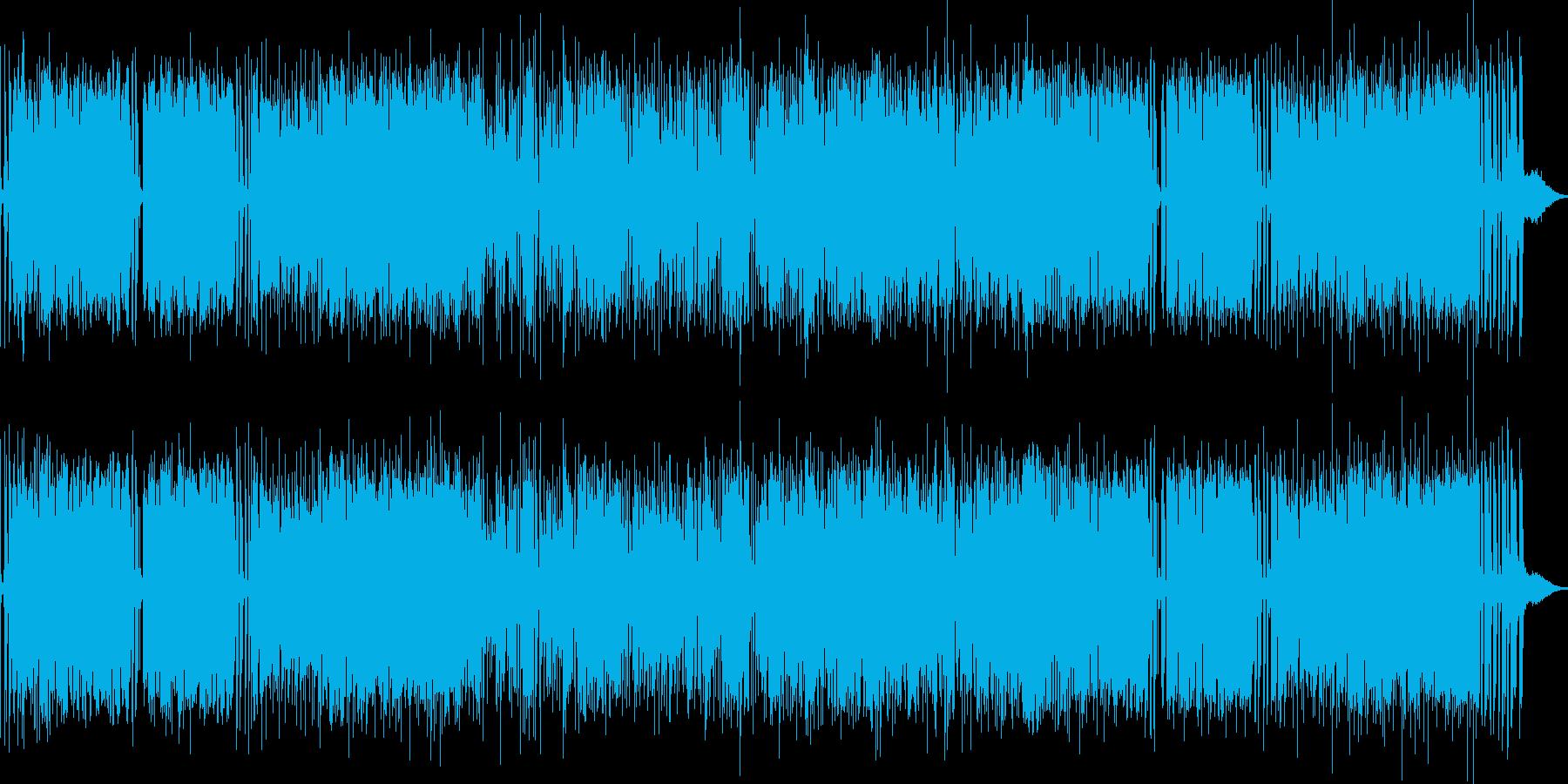 サックスの元気なメロディが印象的の再生済みの波形