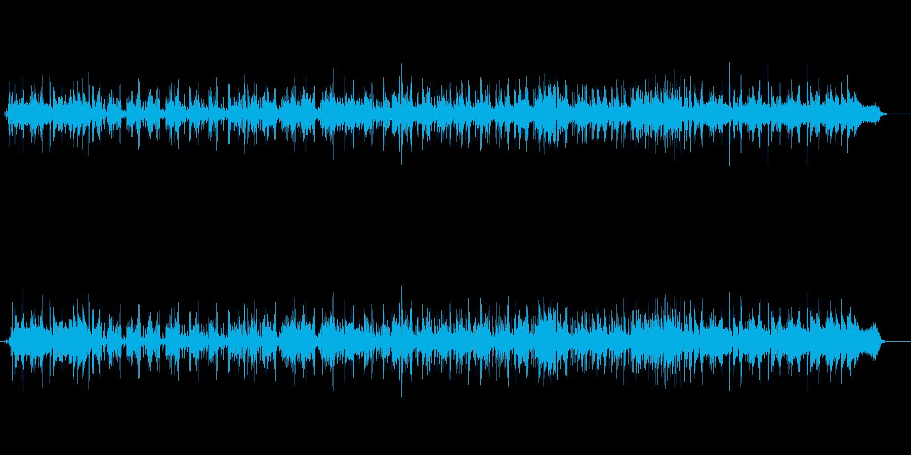 フュージョン・バラードの再生済みの波形