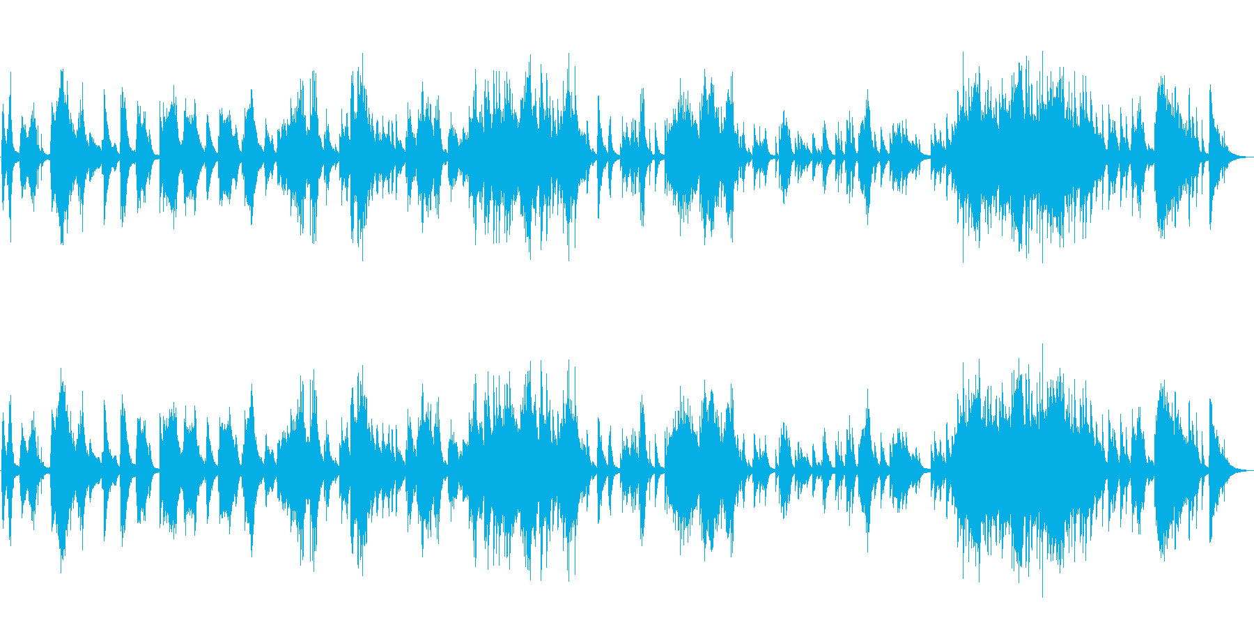 エンディングに最適な落ち着いたピアノソロの再生済みの波形
