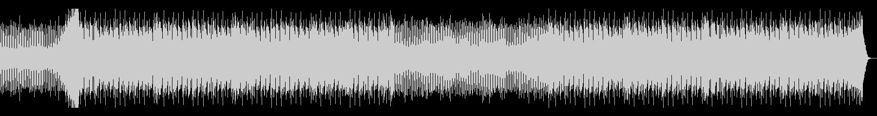 アンダーグラウンドなドラムンベースの未再生の波形