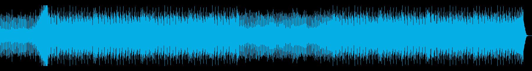 アンダーグラウンドなドラムンベースの再生済みの波形