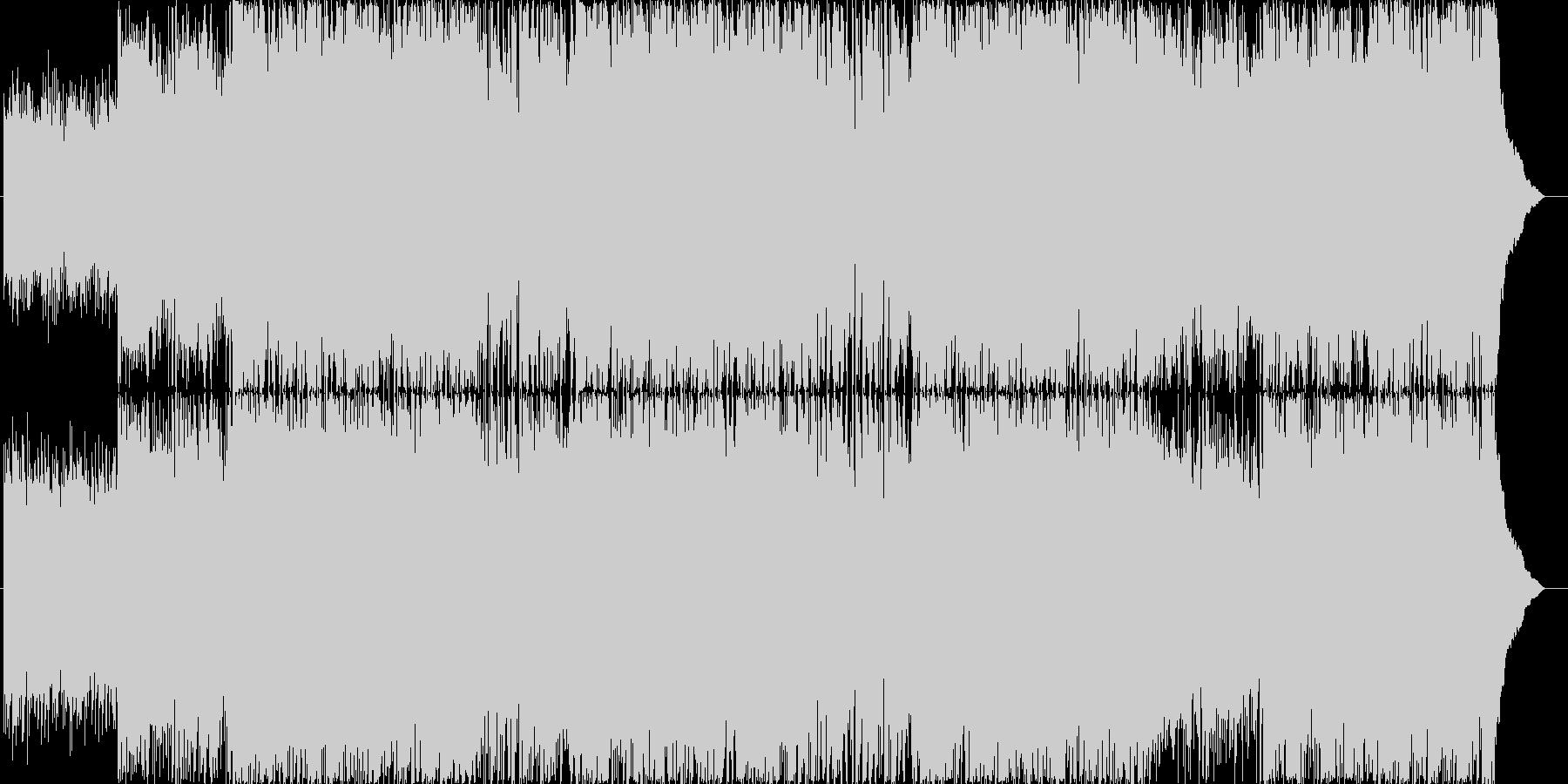 アコギ主体の爽やか/ほのぼのポップの未再生の波形