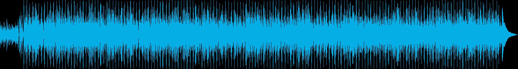 癒しのゆったりとしたボサノバの再生済みの波形