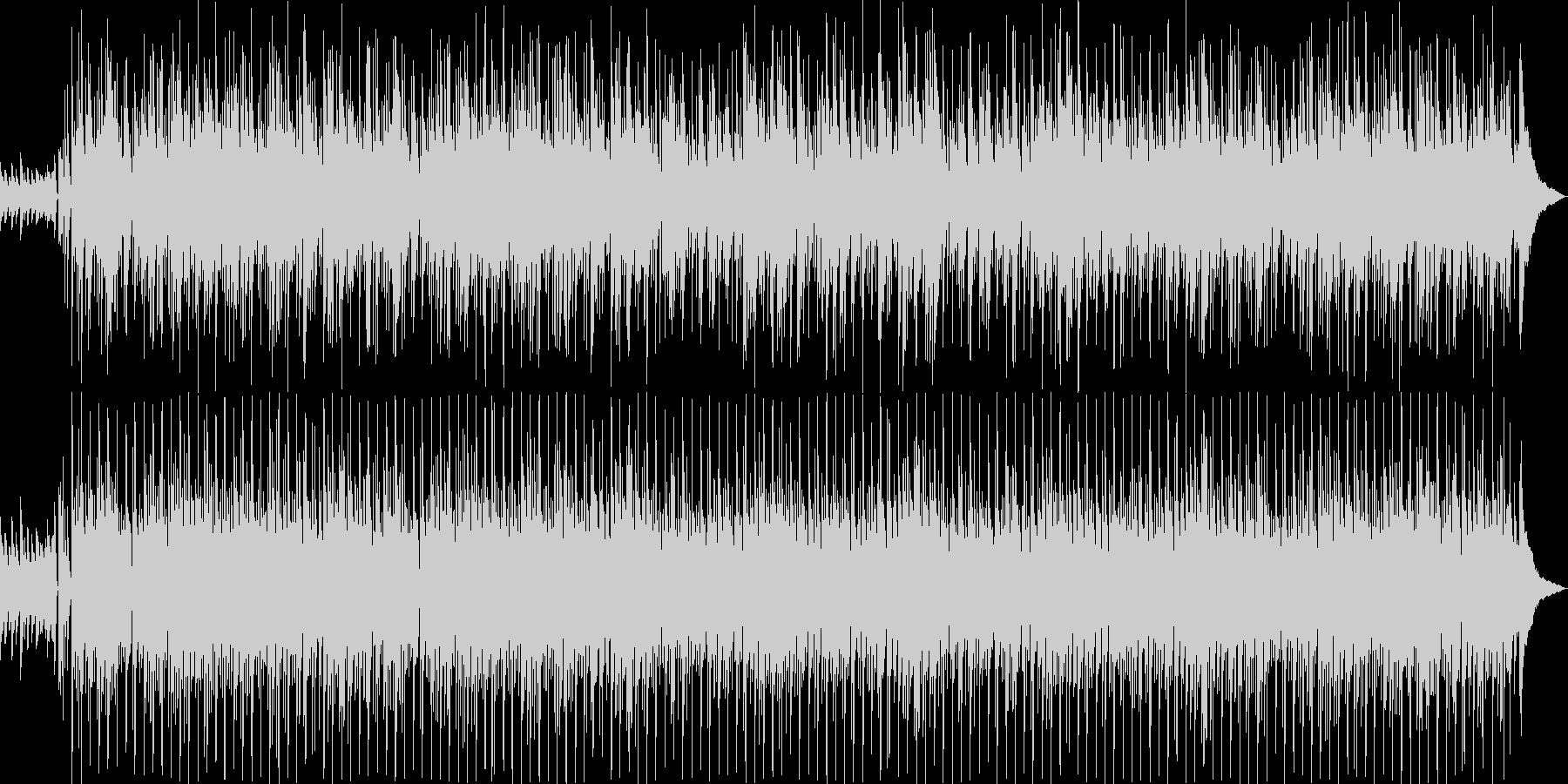 癒しのゆったりとしたボサノバの未再生の波形