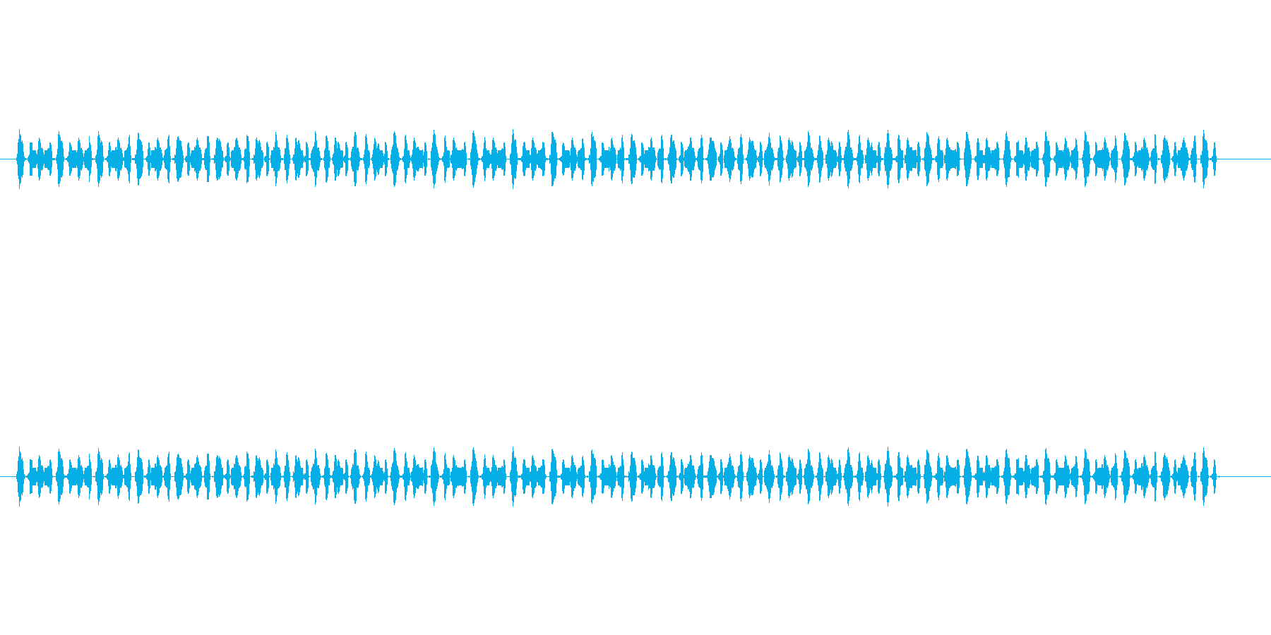 【サイバー20-4】の再生済みの波形