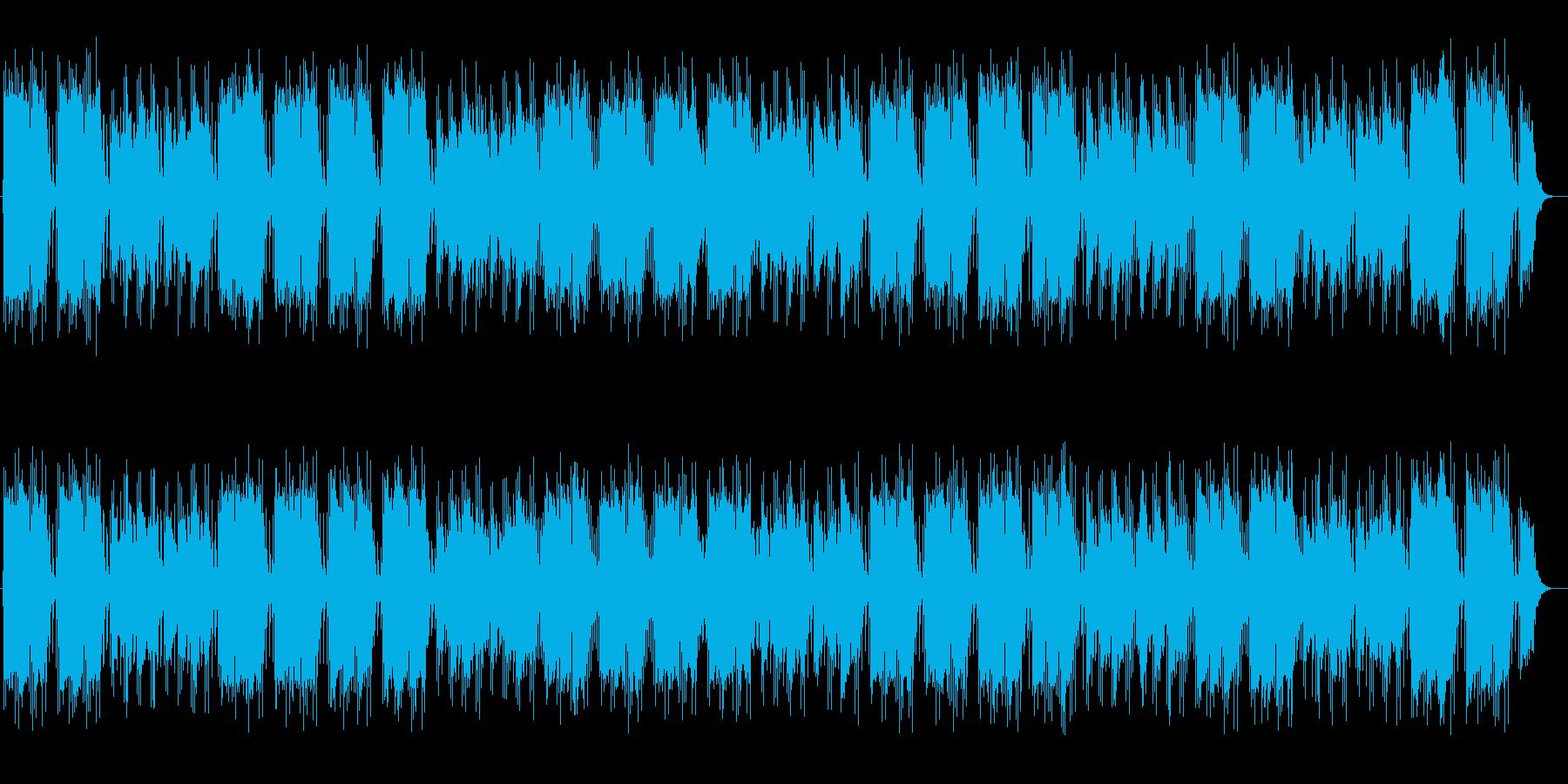 幻想的で不思議なミュージックの再生済みの波形