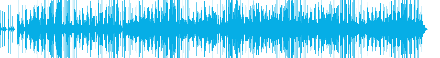 三線を使った沖縄風ほのぼのBGMの再生済みの波形