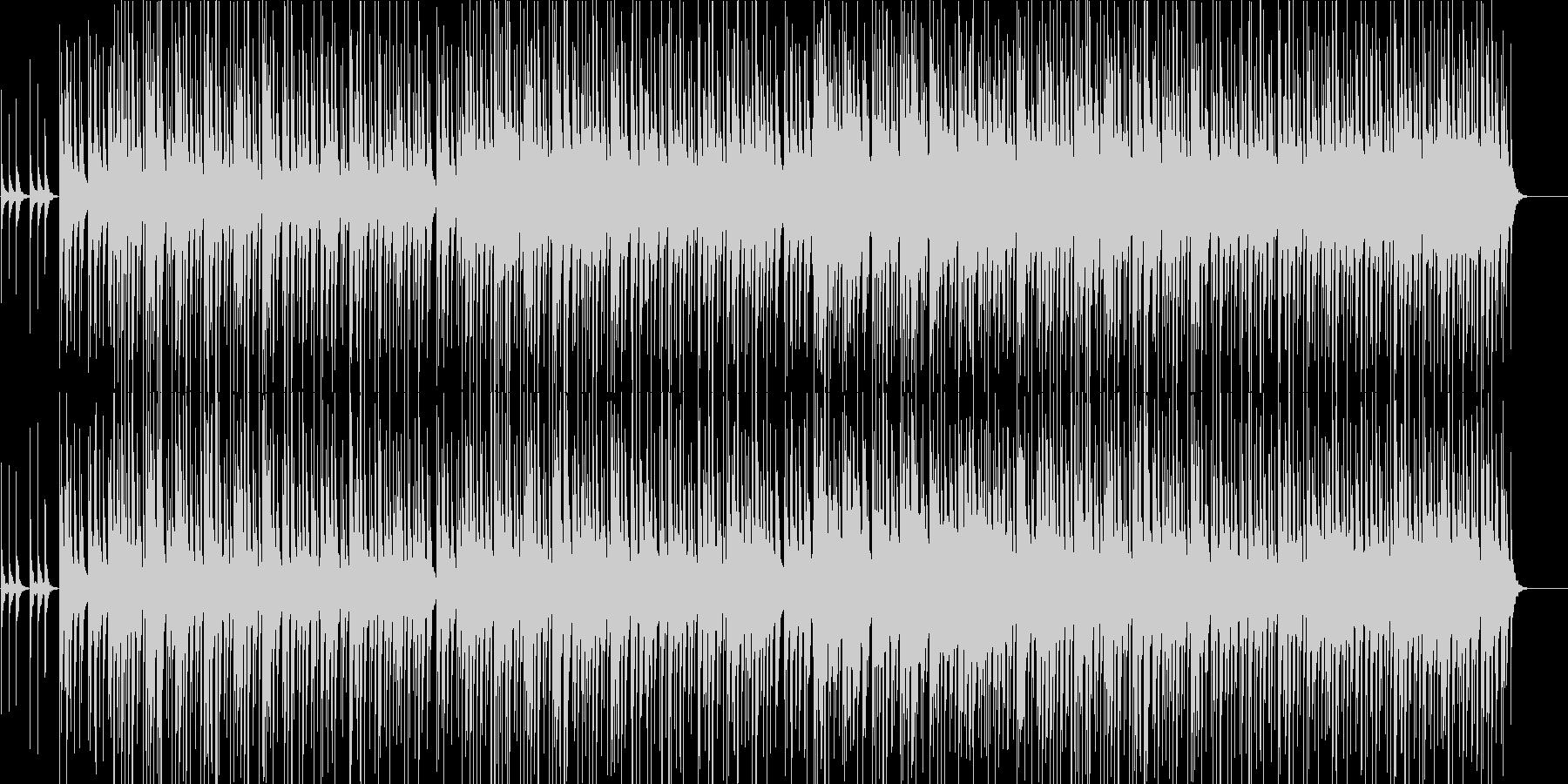 三線を使った沖縄風ほのぼのBGMの未再生の波形