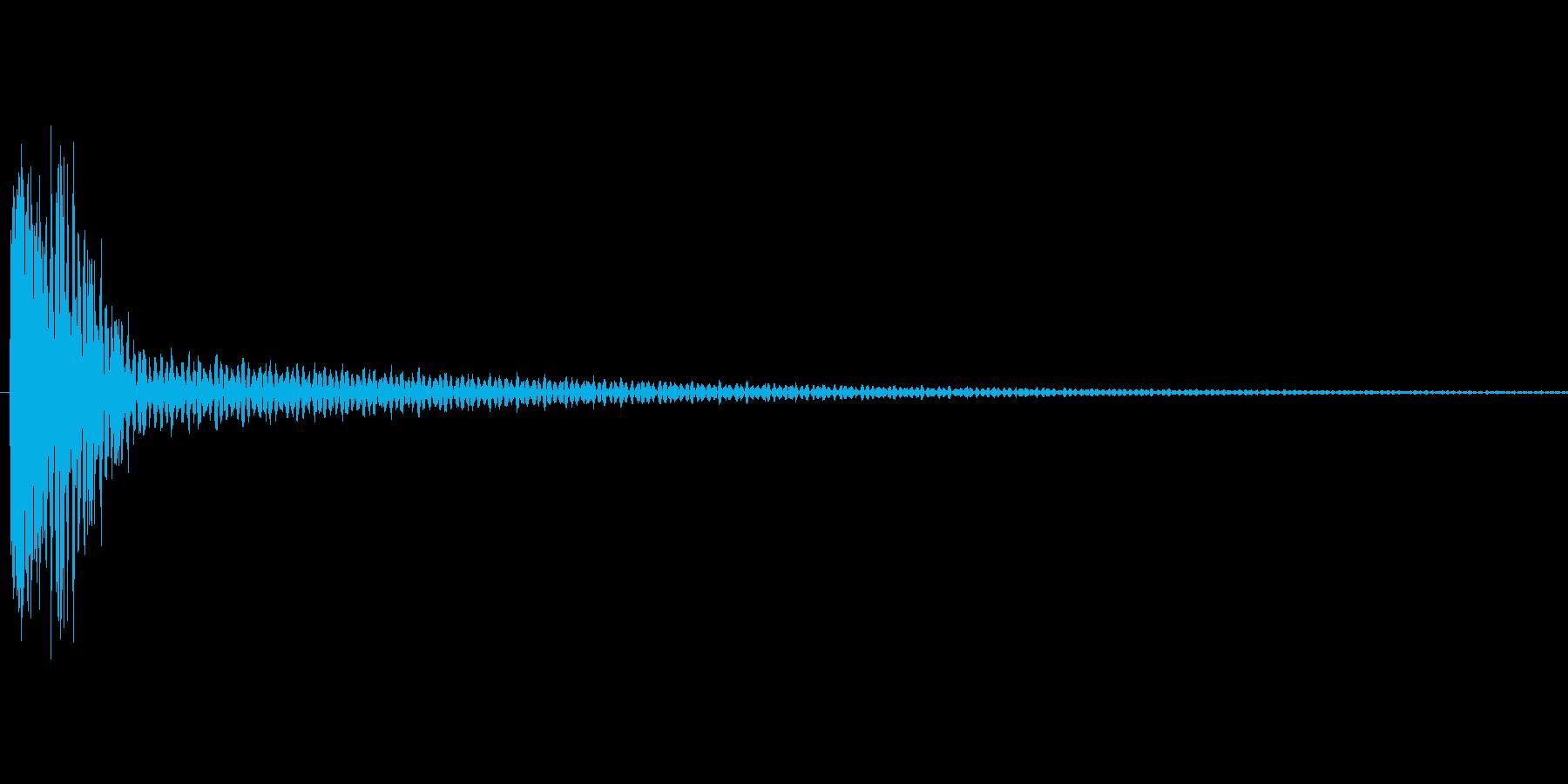 汎用的なシステム音の再生済みの波形