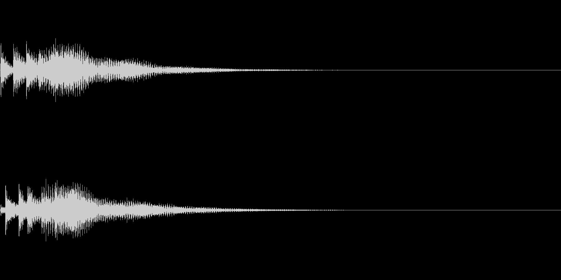 システム音14_シンセDPの未再生の波形