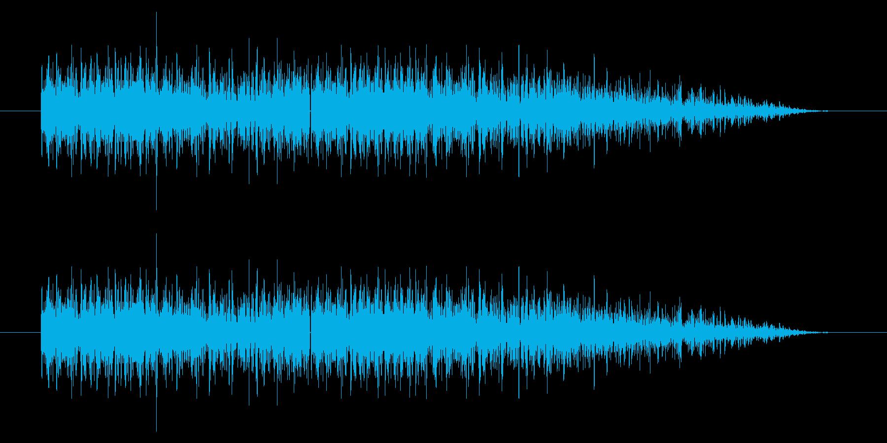 SNES-RPG04-04(魔法 炎3)の再生済みの波形