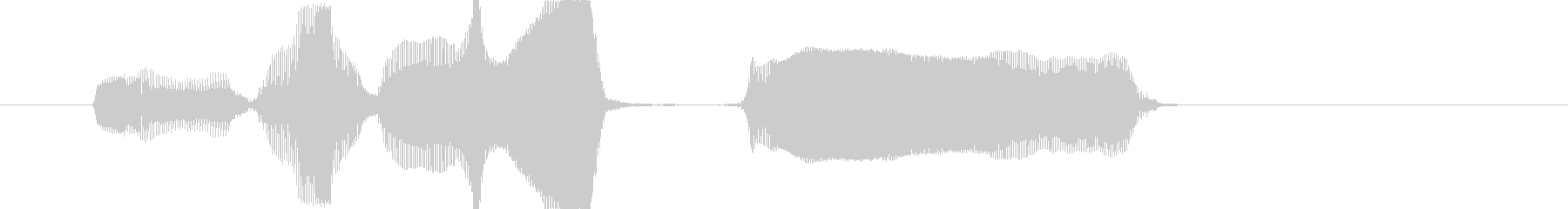 レベルアップー!の未再生の波形