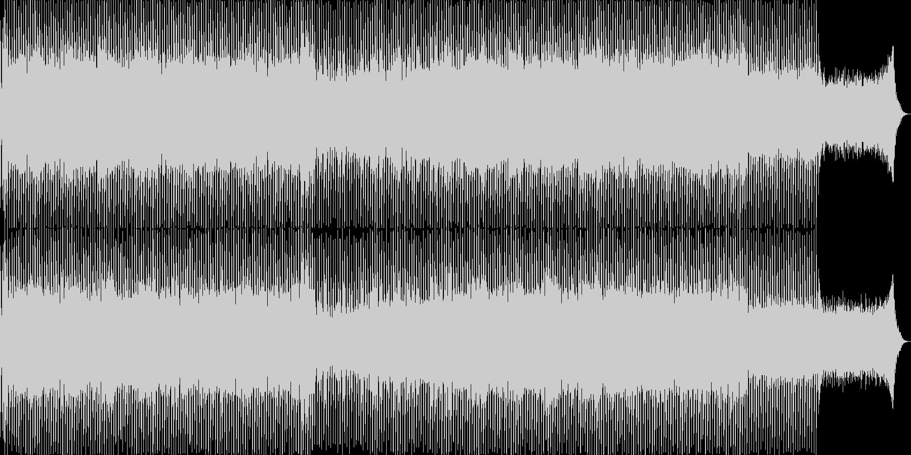 EDMポップで明るく軽快なテクノ-04の未再生の波形