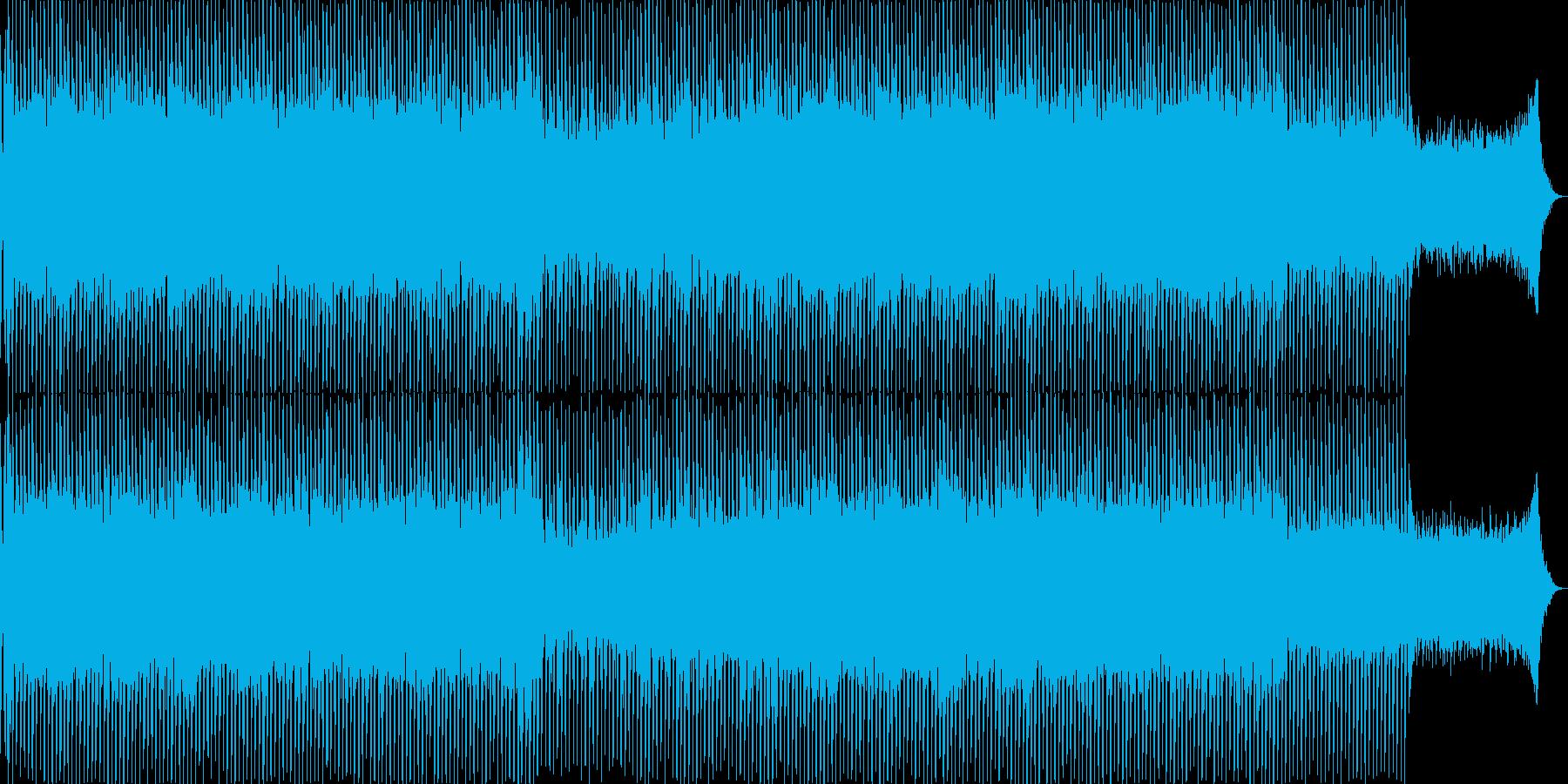 EDMポップで明るく軽快なテクノ-04の再生済みの波形