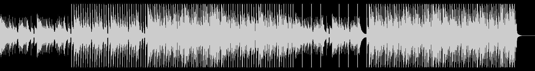 夏/トロピカル/海/BGM/EDMの未再生の波形