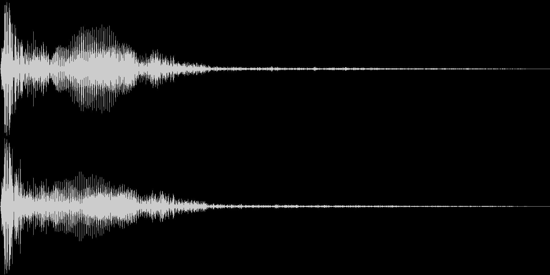 Mogura モグラ叩きピコハンHit音の未再生の波形