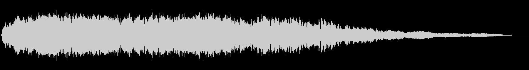 「ピアノの旋律が幻想的なBGM」の未再生の波形