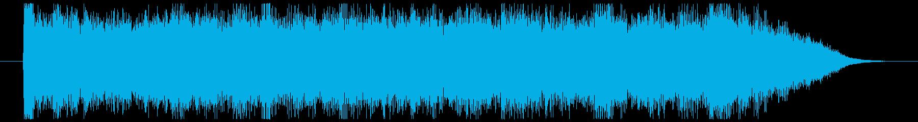 荒野の果てに CMサイズの再生済みの波形