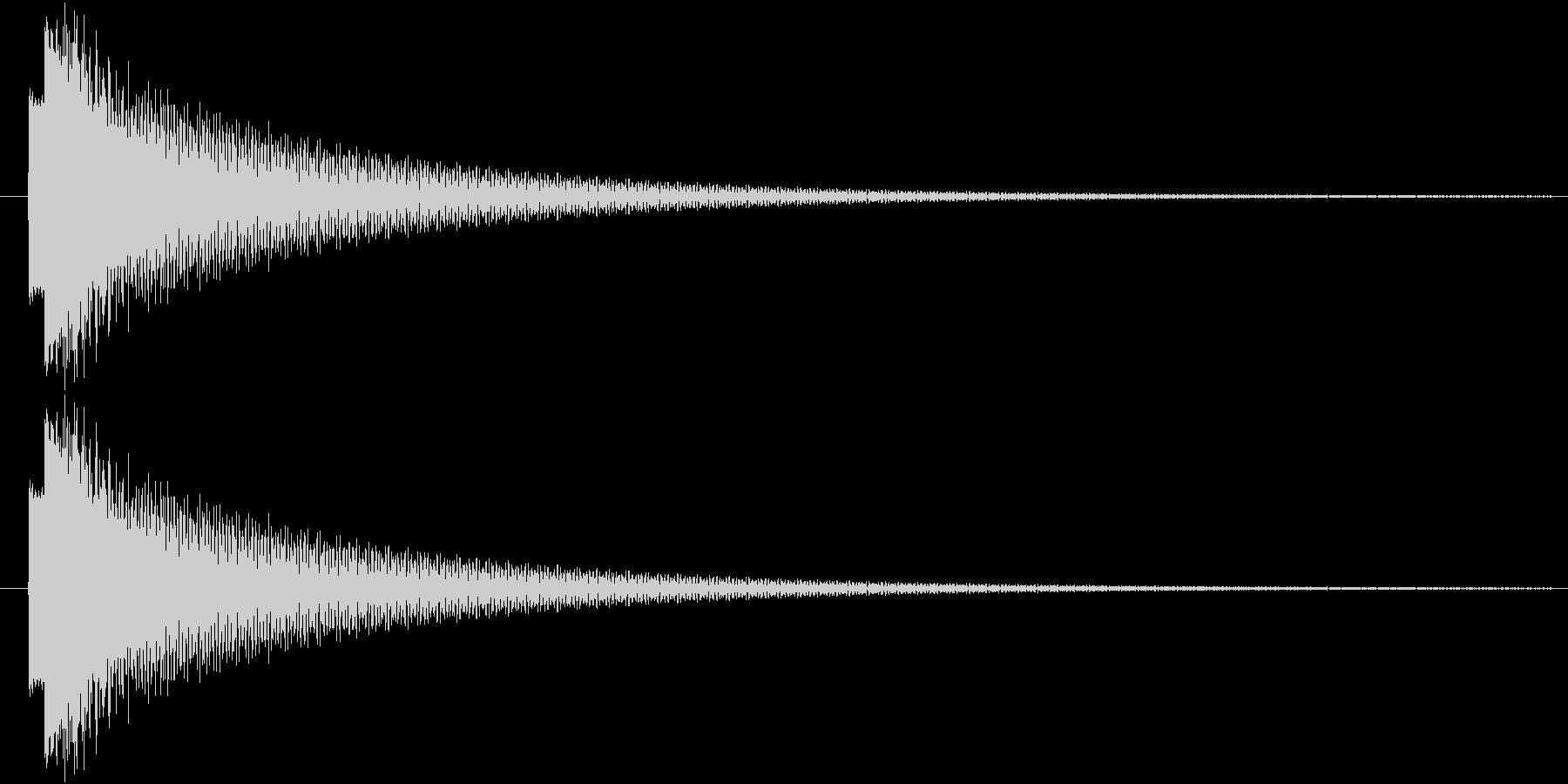ピローン(輝き、決定)の未再生の波形
