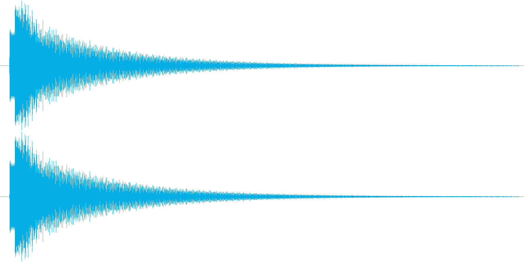 ピローン(輝き、決定)の再生済みの波形