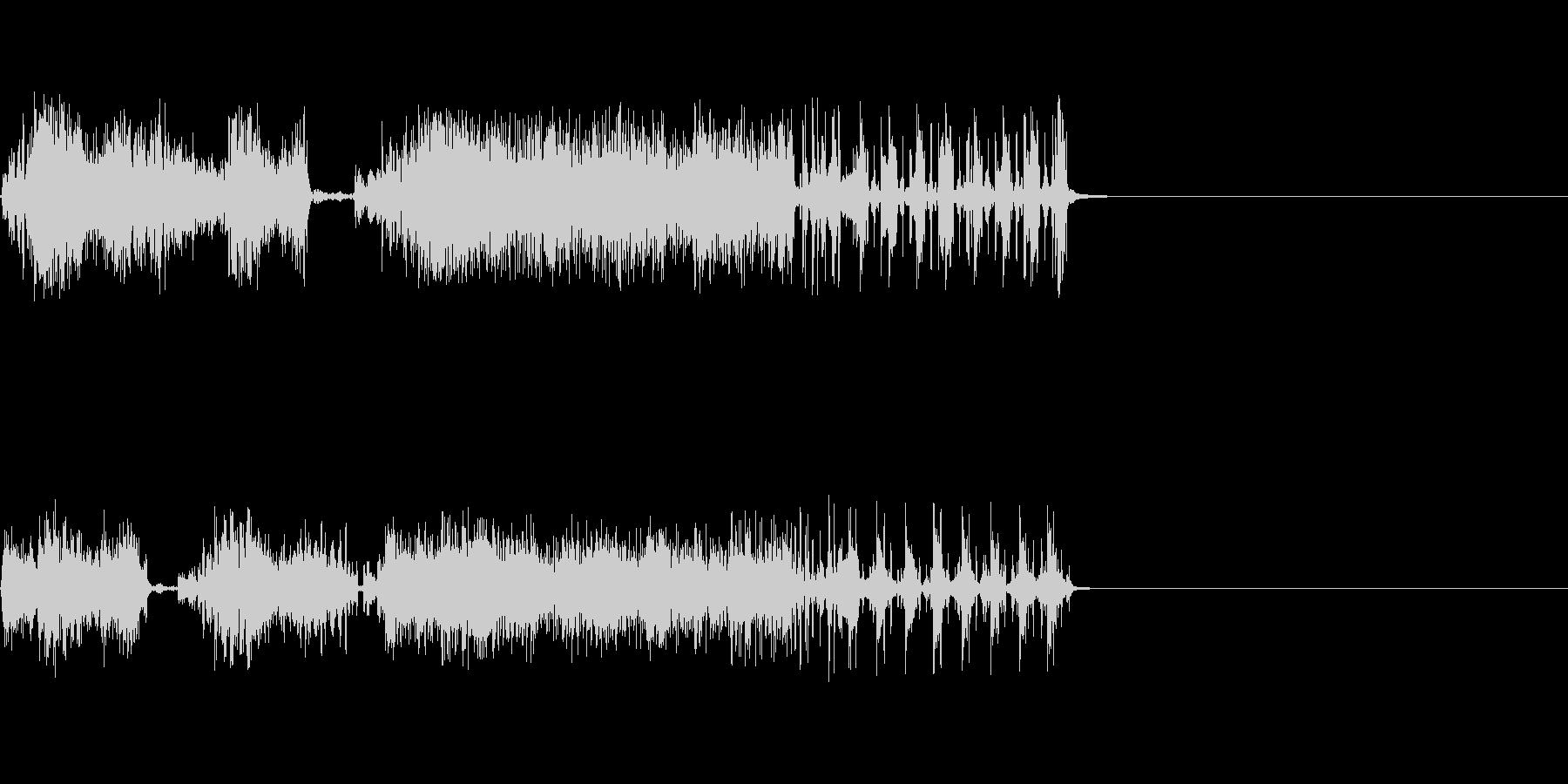 【SE 効果音】スクラッチ3の未再生の波形