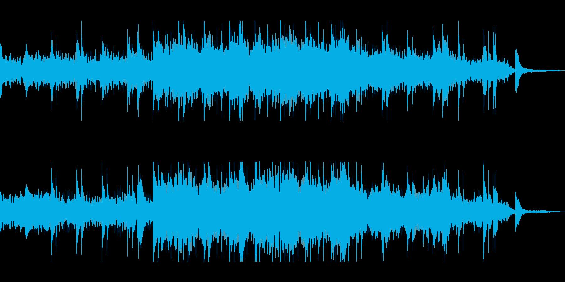 透明感と美しいピアノシンセサウンドの再生済みの波形