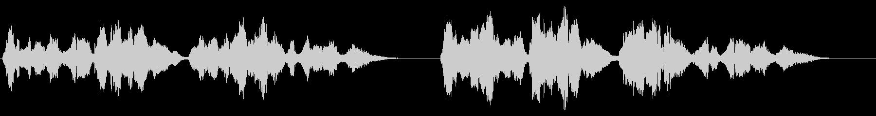 夏の星空・感動的なバイオリン演奏・独奏版の未再生の波形