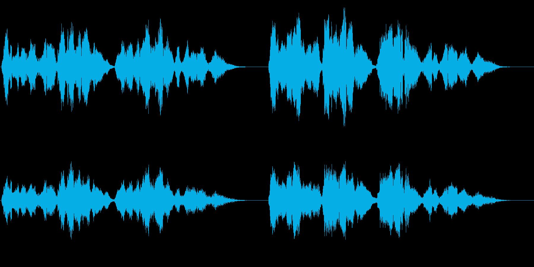 夏の星空・感動的なバイオリン演奏・独奏版の再生済みの波形