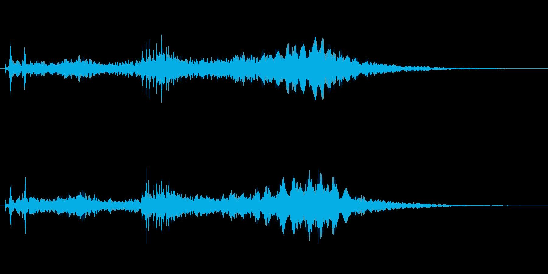 水と金属がテーマ アイキャッチ向け02の再生済みの波形